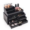 Cosmetic Organizer With 3 Drawers Svart