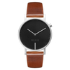 Felix B Ren Natt Silver/Black/Brown - Leather