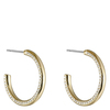 Snö of Sweden Adara Oval Earring Gold/Clear 26mm