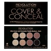 Makeup Revolution Ultra Cover and Conceal Palette-Medium Dark 10g