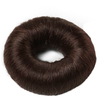 Hair Accessories Synthetic Hair Bun Large Brown