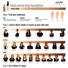 NYX Professional Makeup Total Control Drop Foundation Light Ivory DF04 13ml