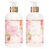 Baylis & Harding Royale Bouquet Rose & Honeysuckle Hand Wash And Lotion 2x300ml