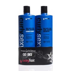 Curly Sexy Hair  - Shampoo og Balsam 2 x 1000ml (Duo) (SEH0139)