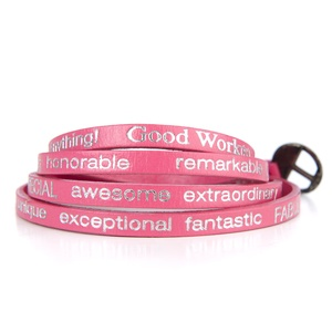 "Good Work(s) - Wrap Around ""You are beautiful"" Hot Pink (GOD0041)"