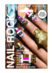Rock Beauty Nail Rock - Nail Rock Tribal Gold (ROC0020)