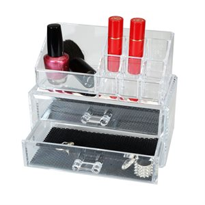 Cosmetic Organizer With 2 Drawers (RAN5048)