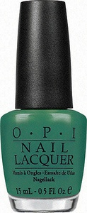 OPI - Neglelakk - Jade Is The New Black 15ml (OPI0034)