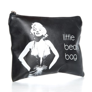 "Shela`s Sminkepung ""Little Beauty Bag"" Sort Marilyn Monroe (SHE0003)"