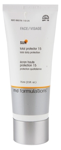 Md Formulations - Sun - Total Protector Face 15 All Skin Types 75ml  (MDF0040)