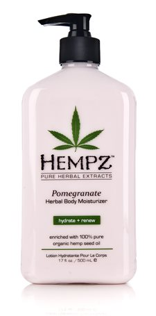 Hempz Pomegranate Herbal Body Moisturizer 500ml