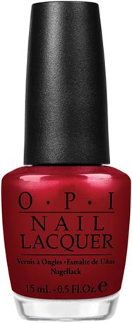OPI - Neglelakk - Germany Collection - Danke-Shiny Red 15ml
