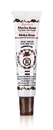 Rosebud Mocha Rose Lip Balm Tube