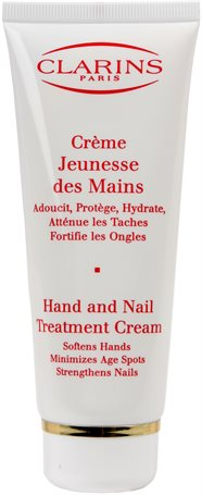 Clarins Hand & Nail Treatment Cream - Minimizes Age Spots 100ml