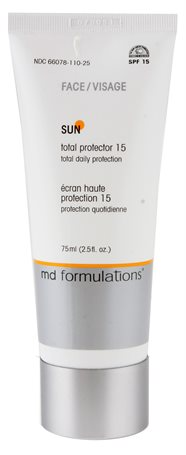 Md Formulations - Sun - Total Protector Face 15 All Skin Types 75ml