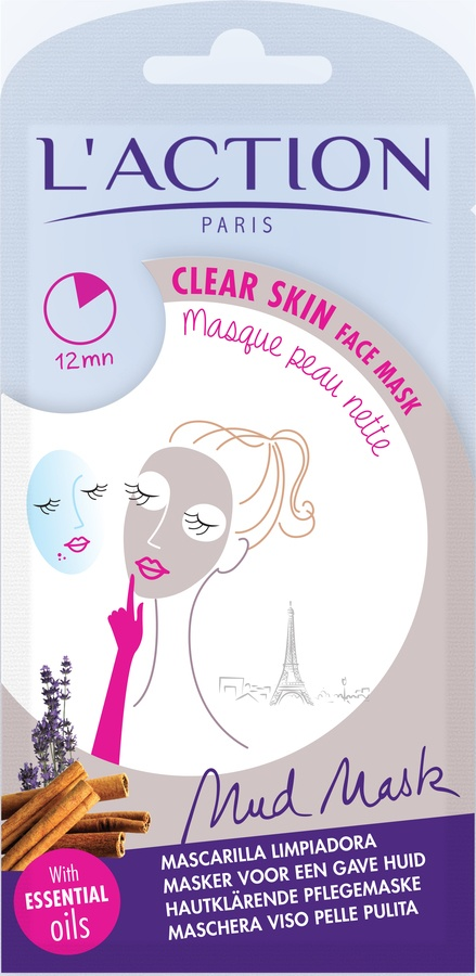 L'Action Paris Clear skin face mask 18g