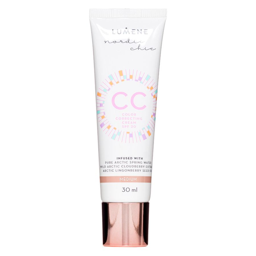 Lumene CC Color Correcting Cream SPF20 Medium 30ml