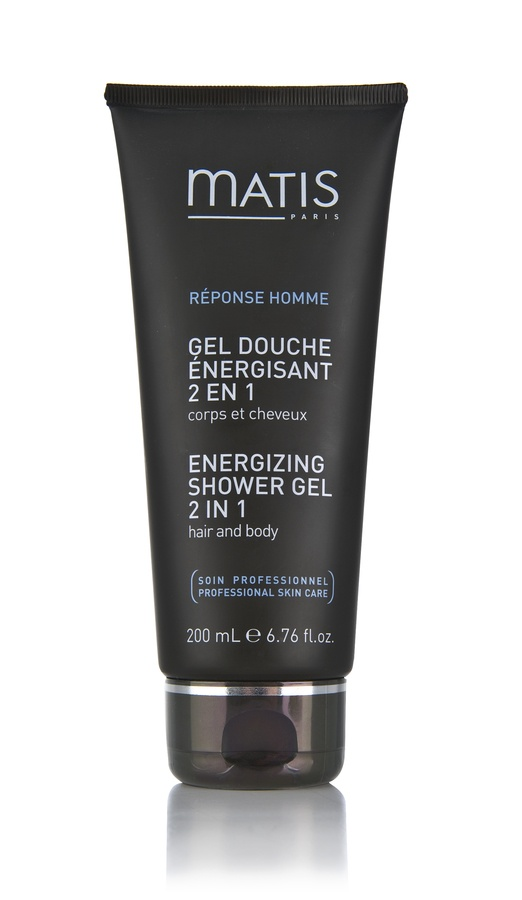 Matis Réponse Homme Energizing Shower Gel 2 In 1 200ml