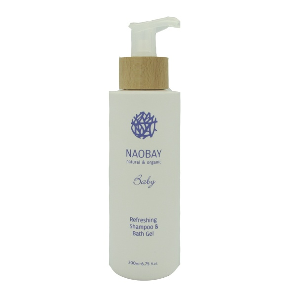 Naobay Baby Refreshing Shampoo & Bath Gel 200ml