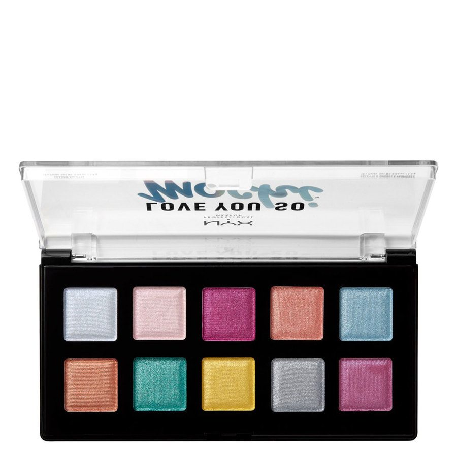 NYX Professional Makeup Love You So Mochi Palette Shade 01