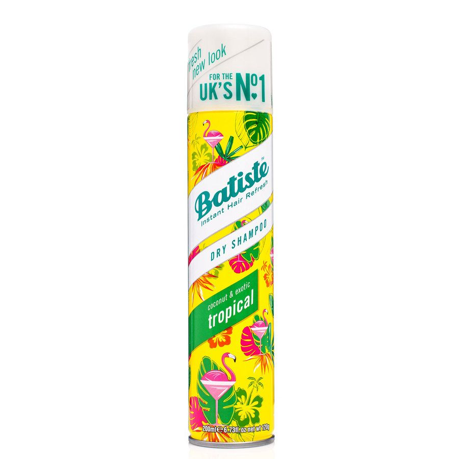 Batiste Dry Shampoo Tropical 200ml