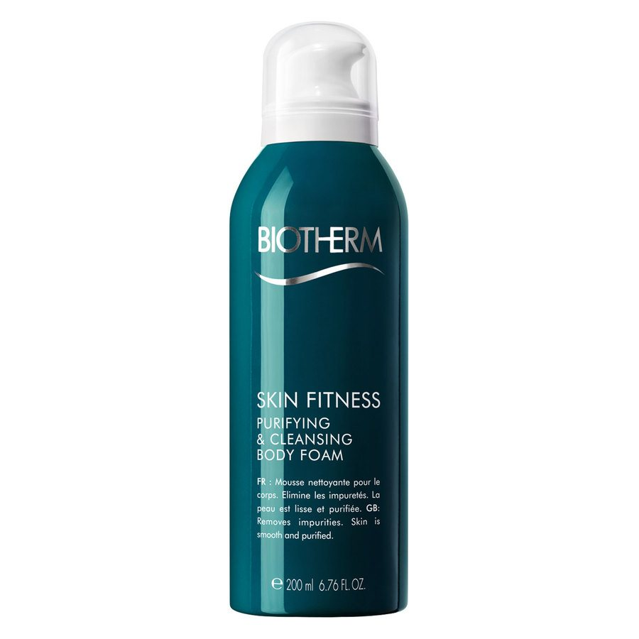Biotherm Skin Fitness Purifying & Cleansing Body Foam 200ml