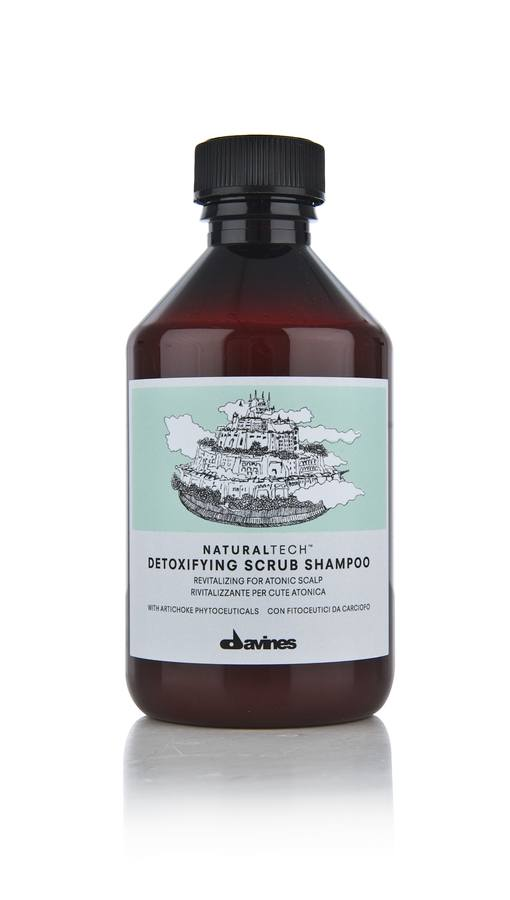 Davines NATURAL TECH Detoxifying Scrub Shampoo 250ml