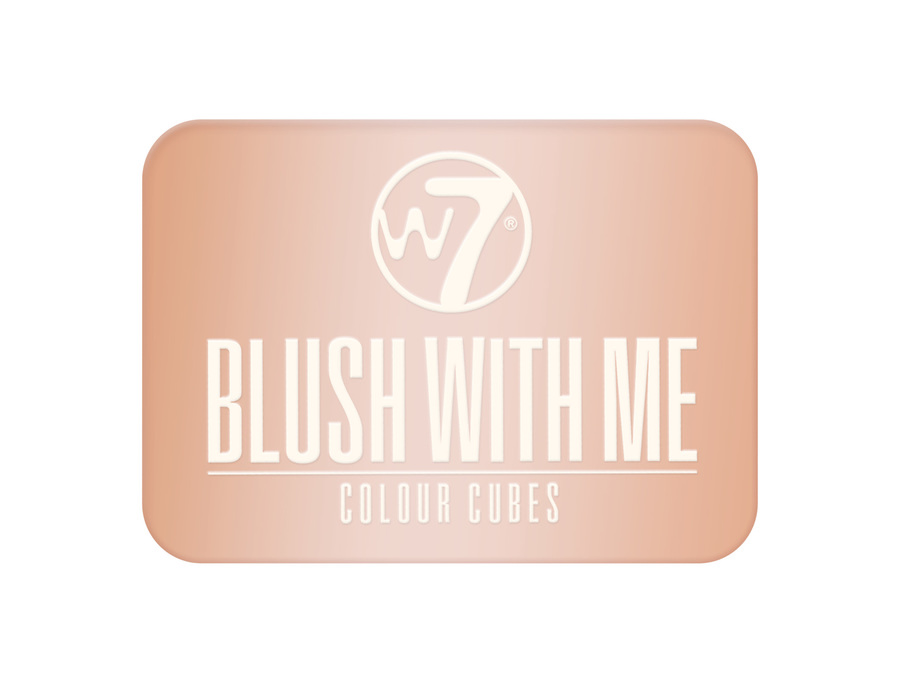 W7 Cosmetics Blush With Me Colour Cubes Honeymoon