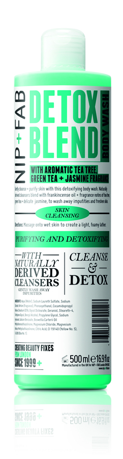 Nip+Fab Detox Blend Body Wash 500 ml