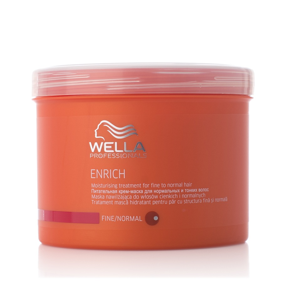 Wella Professionals Enrich Moisturizing Treatment Fint/Normalt Hår 500ml