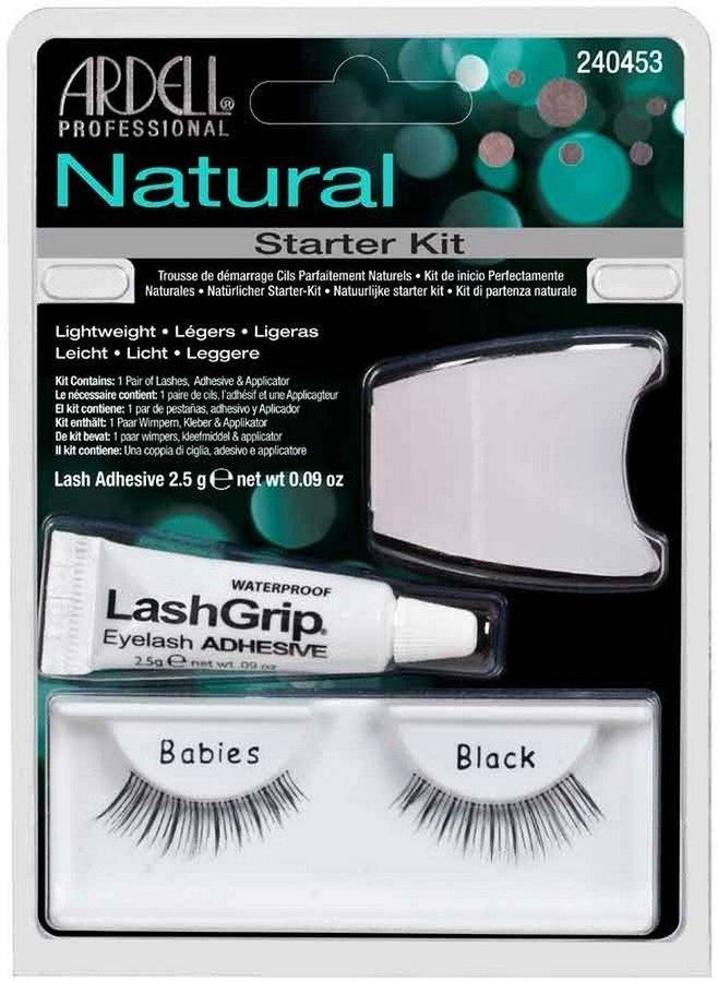 Ardell Natural Fashion Lashes Starter Kit Babies 3 Deler