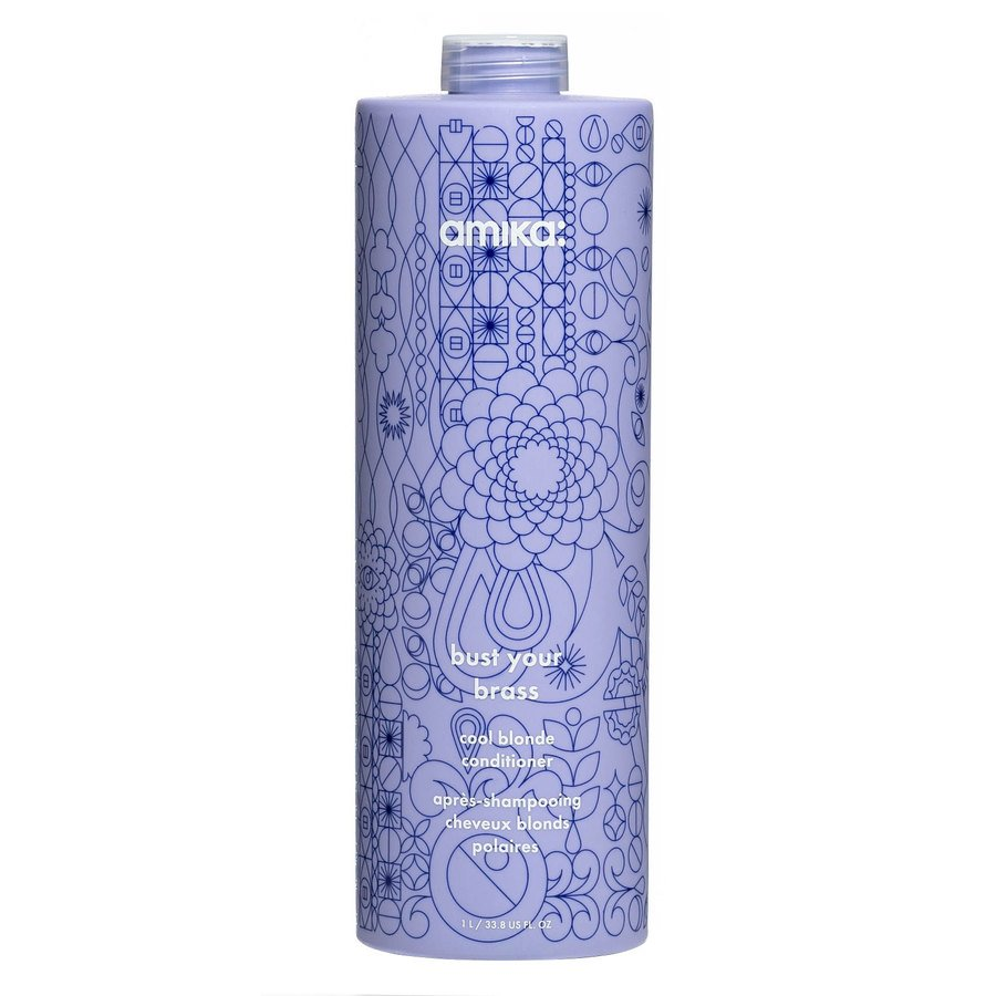 Amika Bust Your Brass Cool Blonde Conditioner 1000ml
