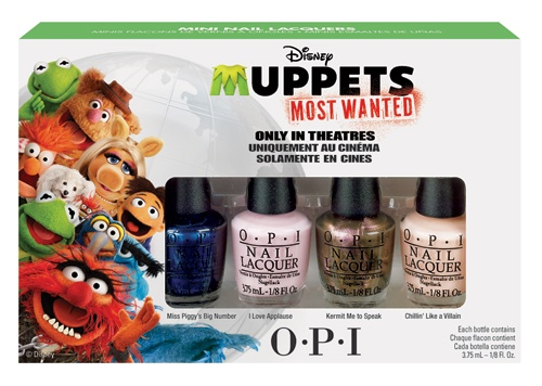 OPI Muppets Most Wanted Collection 4 x 3,75 ml