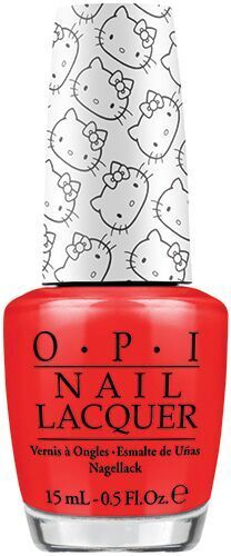 OPI Hello Kitty Collection 5 Apples Tall 15ml NLH89