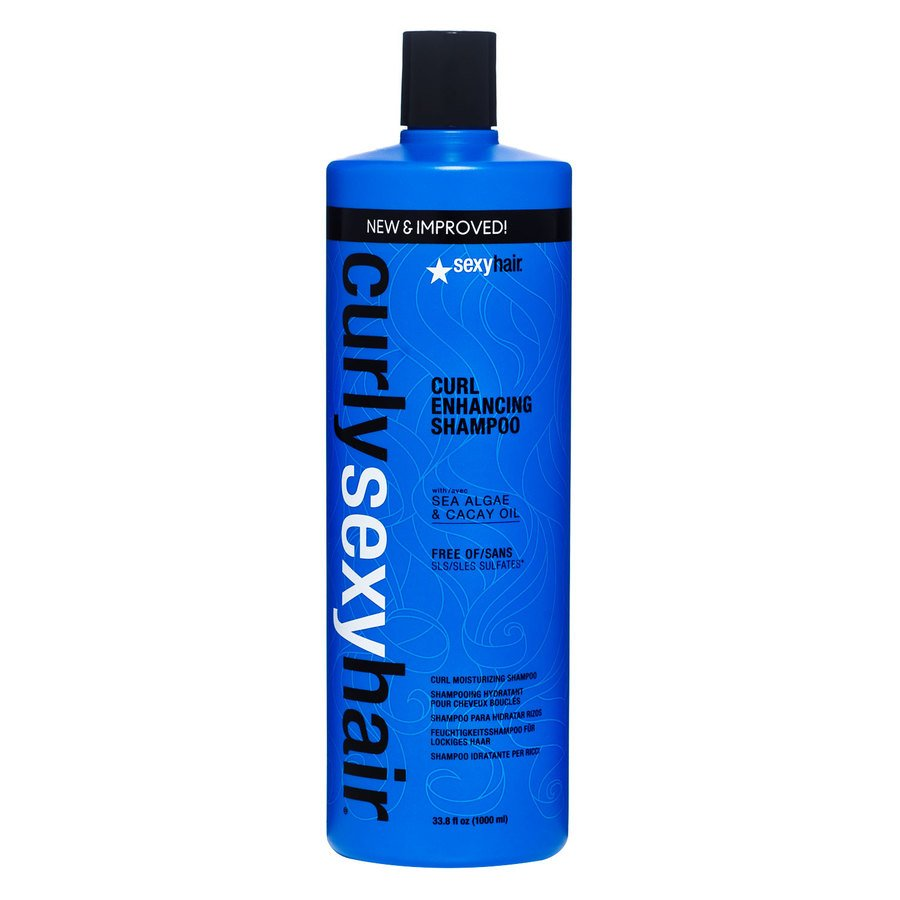 Curly Sexy Hair Color Safe Curl Enhancing Shampoo 1000ml