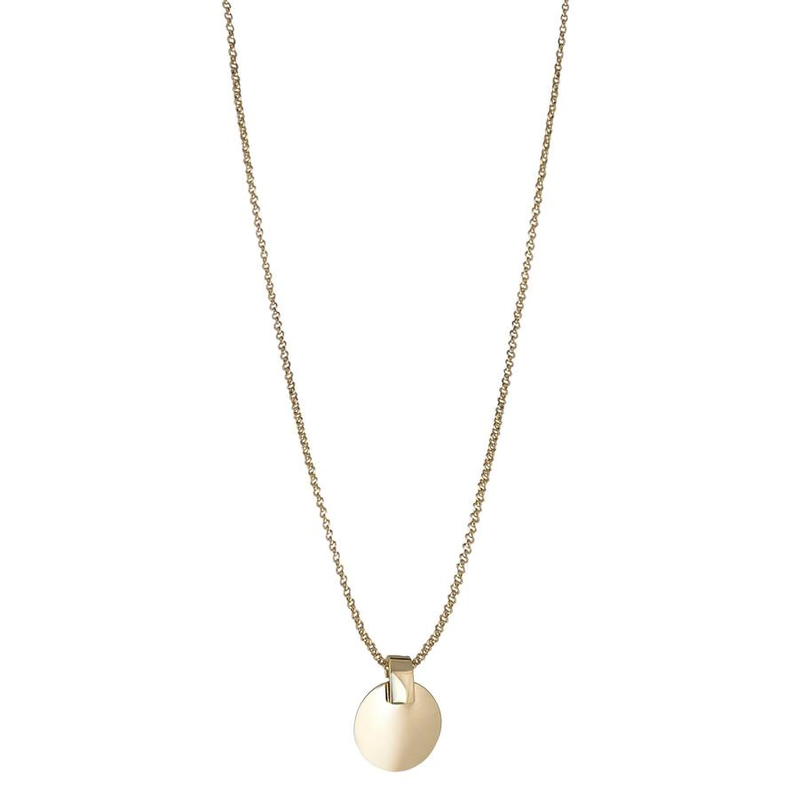 Snö of Sweden Carrie Pendant Neck Plain Gold 42cm
