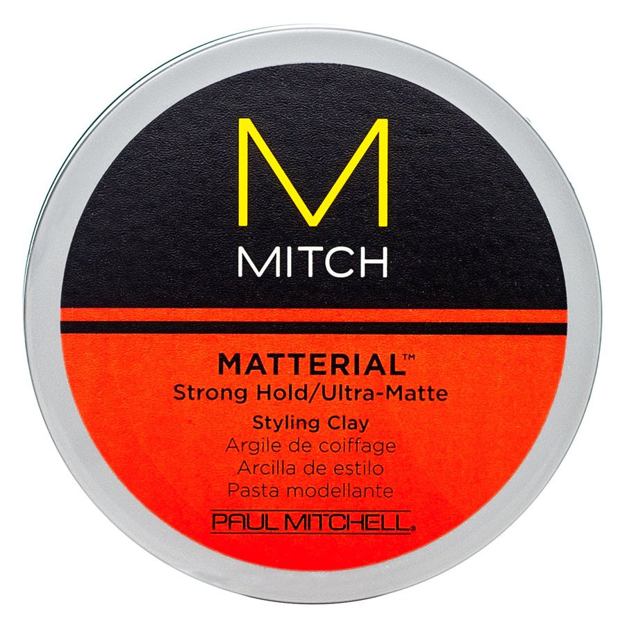 Paul Mitchell Matterial Strong Hold/Ultra-Matte Styling Clay 85g