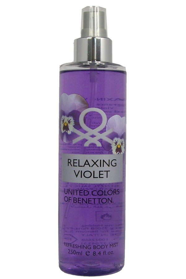 Benetton Relaxing Violet Refreshing Body Mist 250ml