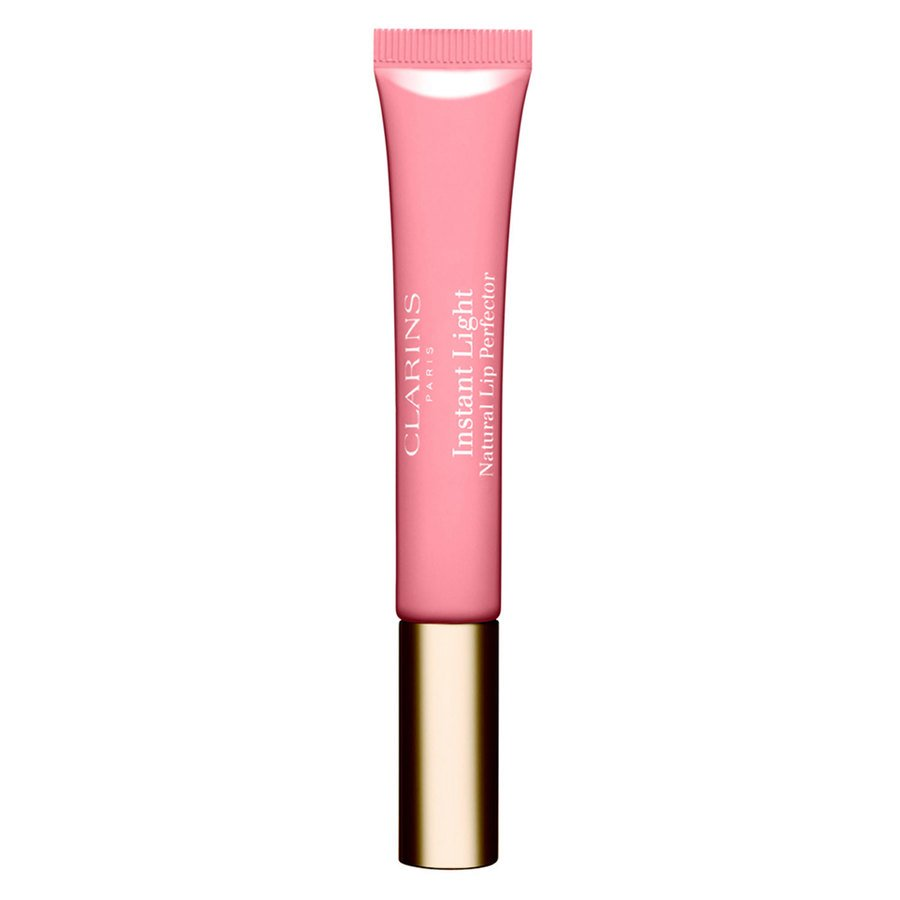 Clarins Instant Light Natural Lip Perfector #01 Rose Shimmer 12ml