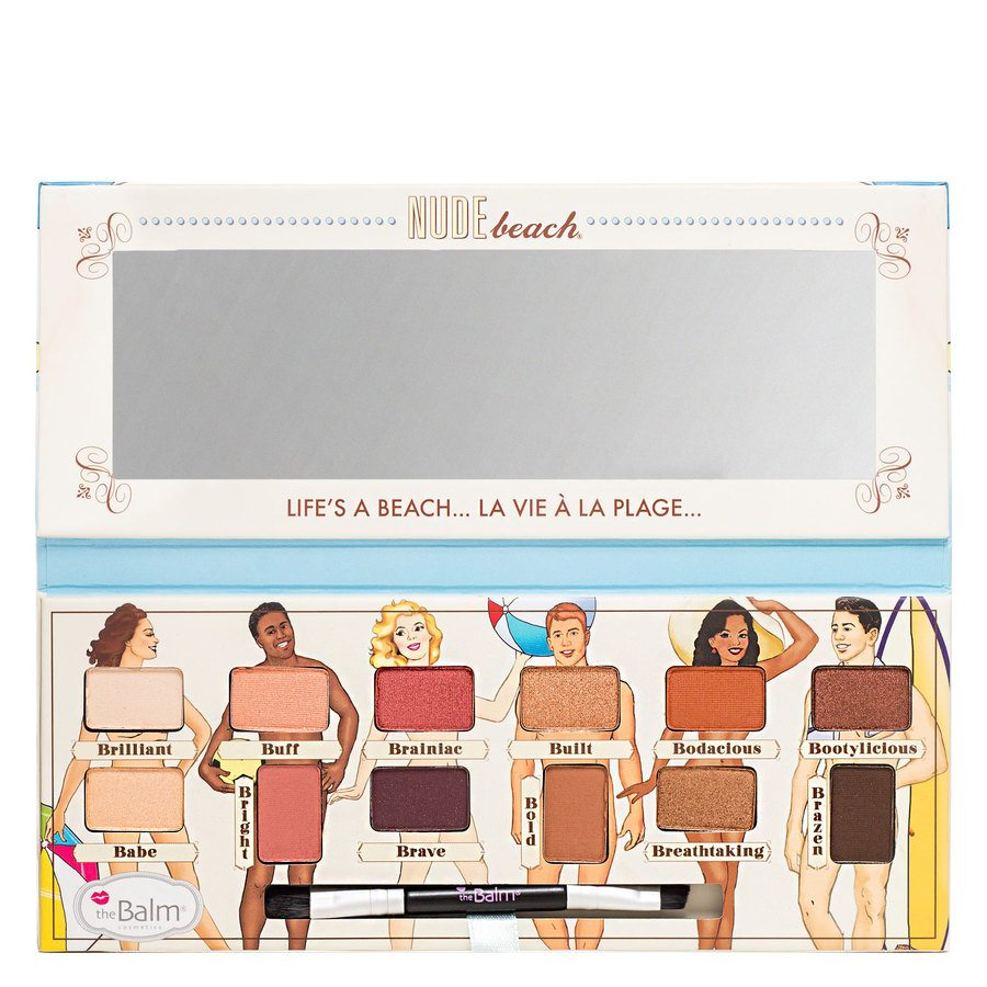 The Balm Nude Beach Palette 9,6g