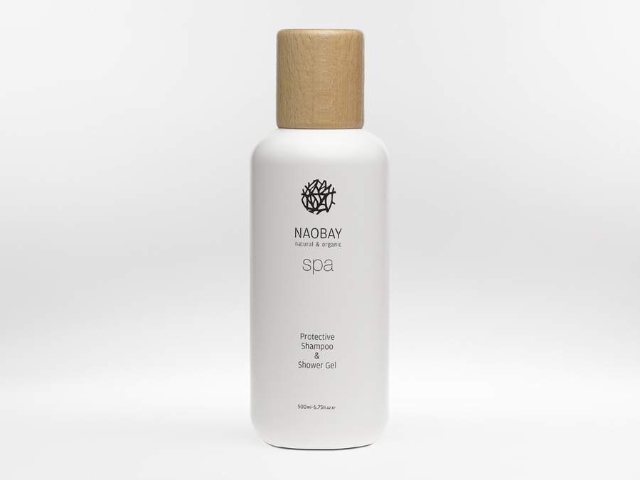 Naobay Spa Protective Shampoo & Shower Gel 500ml