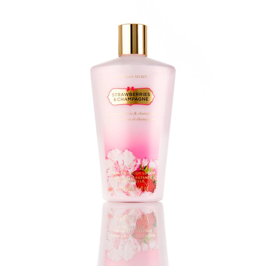 Victoria`s Secret Strawberries And Champagne Hydrating Bodylotion 250ml
