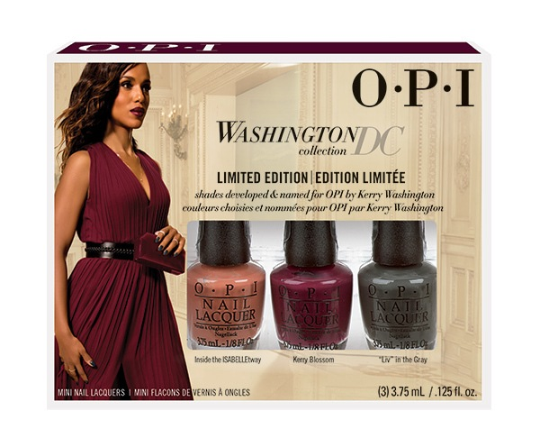 OPI Washington DC Mini Pack 3 Pieces