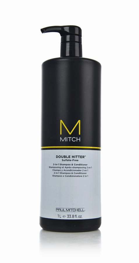 Paul Mitchell – Mitch – Double Hitter Sulfate Free 2-in-1 Shampoo And Conditioner 1000ML