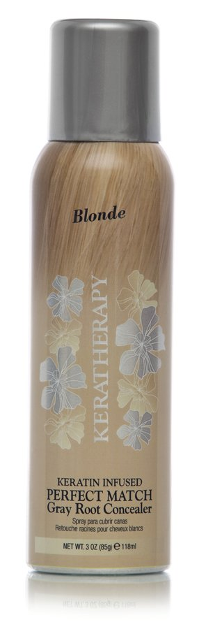 Keratherapy Keratin Infused Perfect Match Gray Root Concealer Blonde 118ml