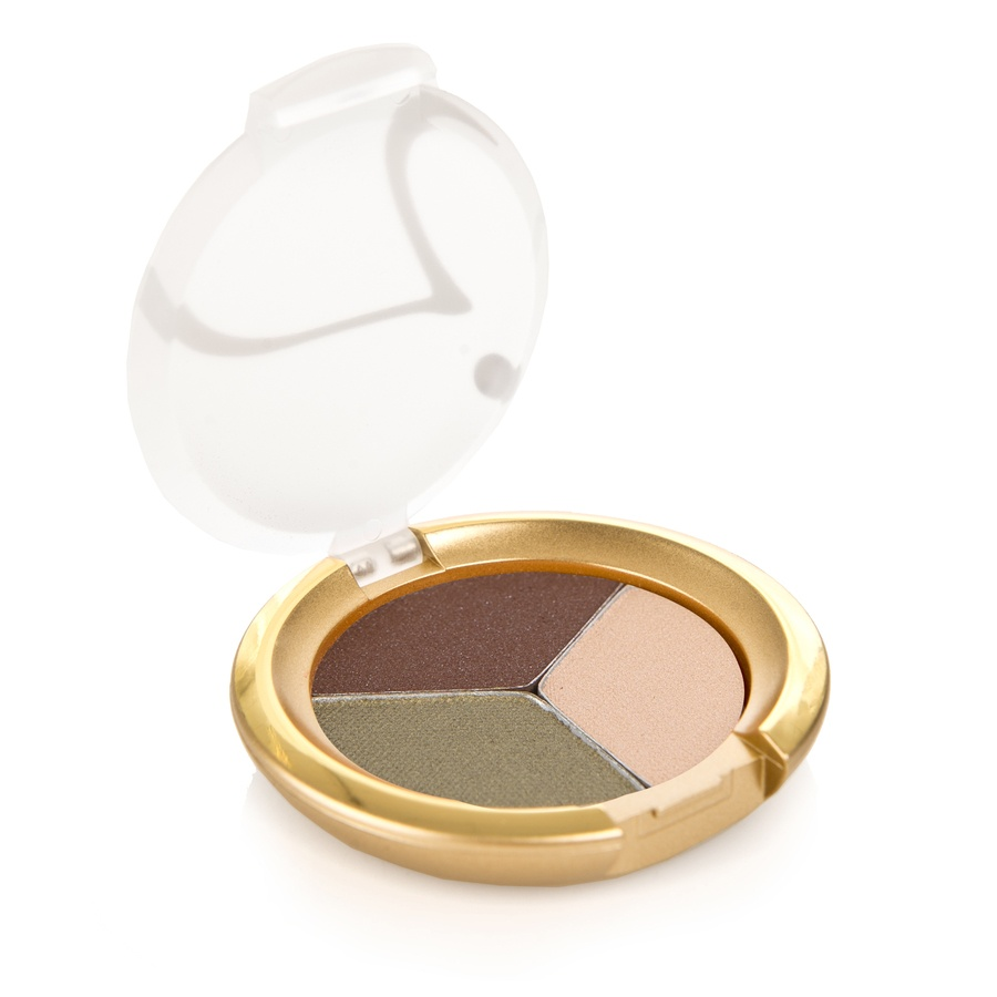 Jane Iredale PurePressed Triple Eye Shadow Khaki Kraze 2,8g