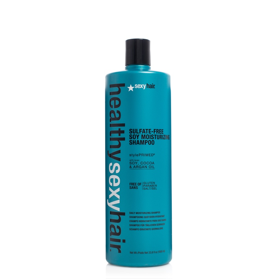 Healthy Sexy Hair Color Safe Soy Moisturizing Shampoo 1000ml