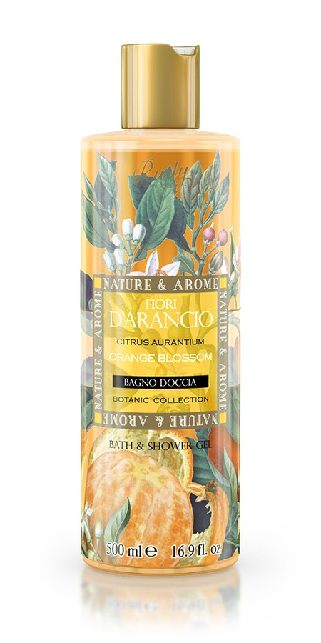 Nature & Arome Bath & Shower Gel Orange Blossom 500ml