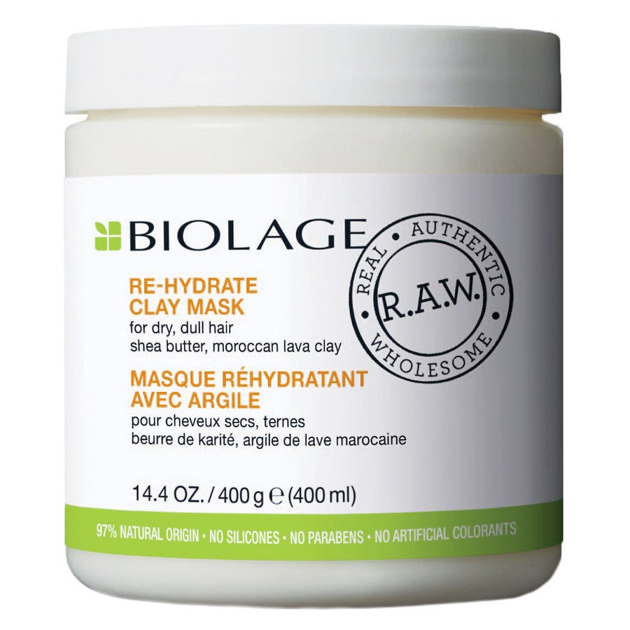Biolage R.A.W Re-Hydrate Clay Mask 400ml