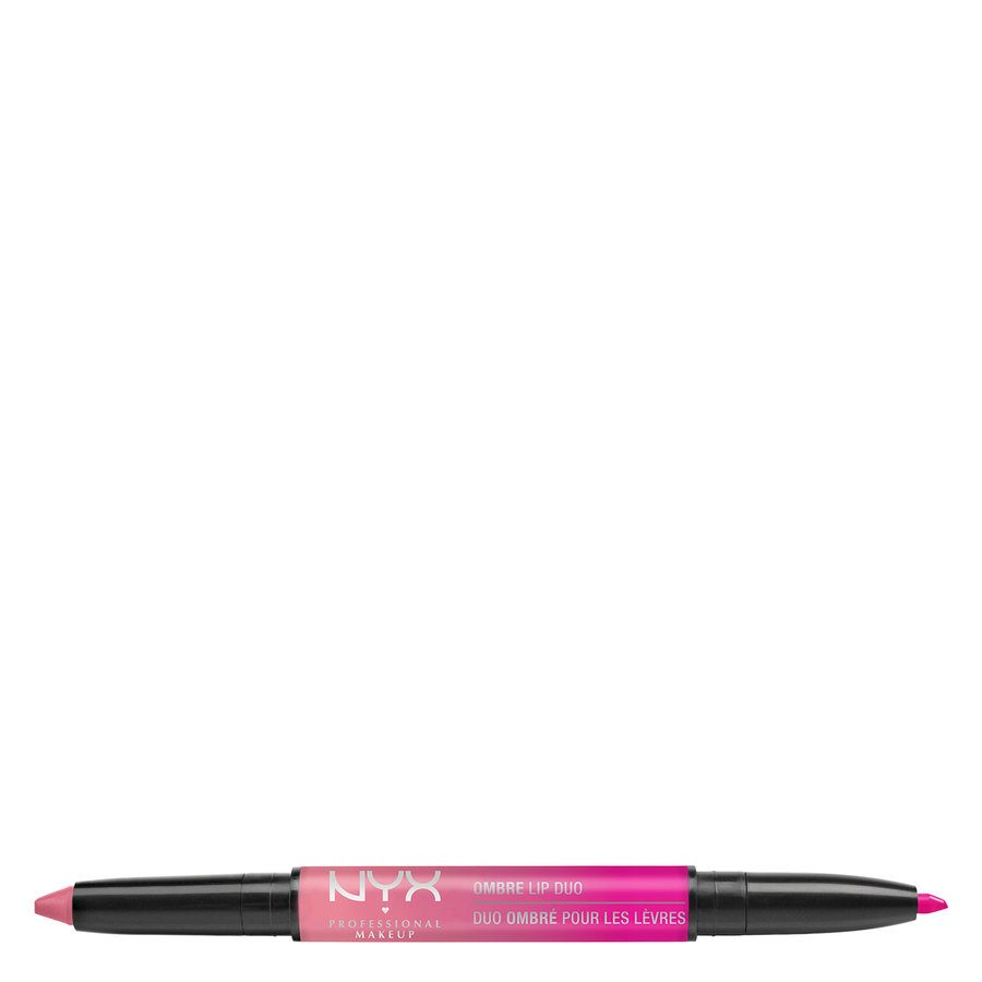 NYX Professional Makeup Ombre Lip Duo Lipstick & Lipliner Old02 Pink Bubbles & Caviar